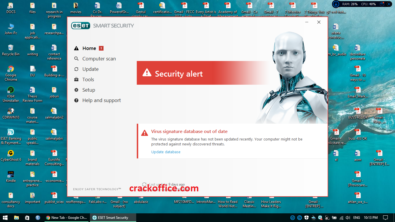 ESET Internet Security 13.2.16.0 Crack + License Key Free 2020