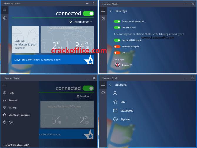 Hotspot Shield Vpn 9.8.7 Crack + Key Full Download 2020