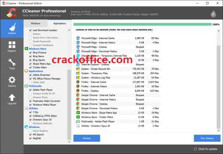 CCleaner Pro 5.66 Crack With License Key 2020 Free