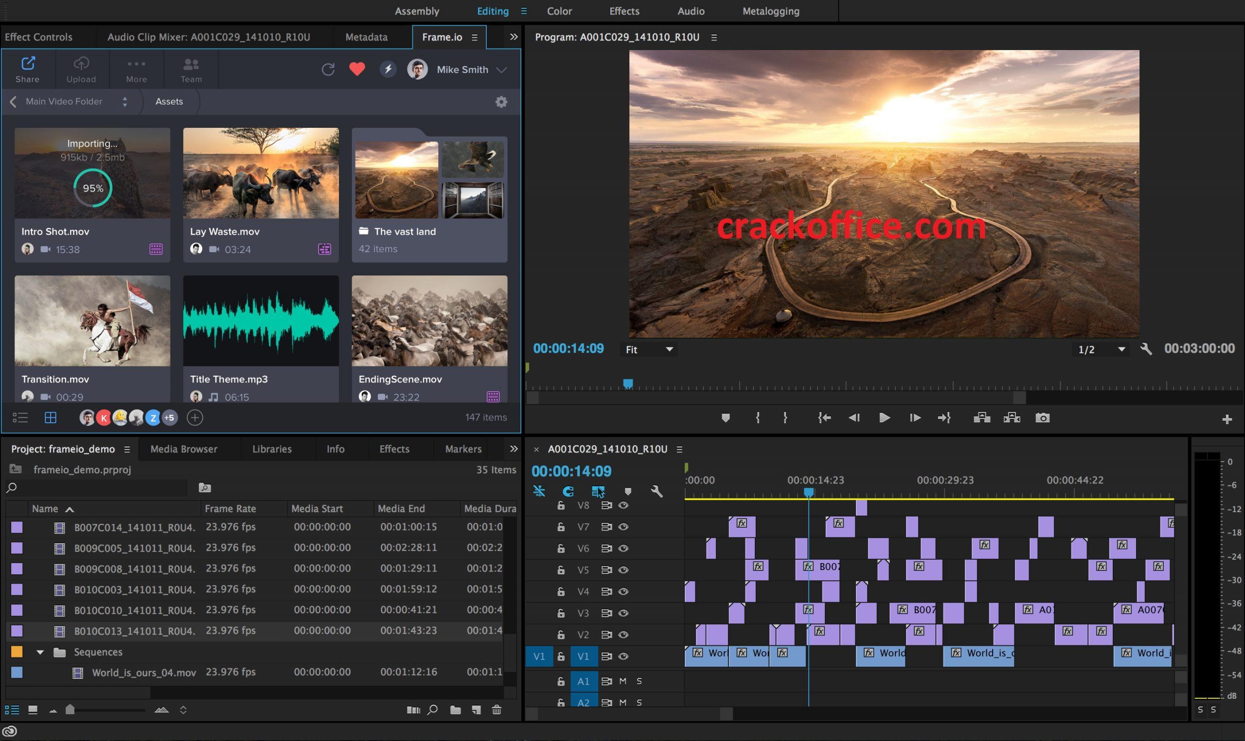 Adobe Premiere Pro 2020 14.2.0.47 Crack + Key Full Download
