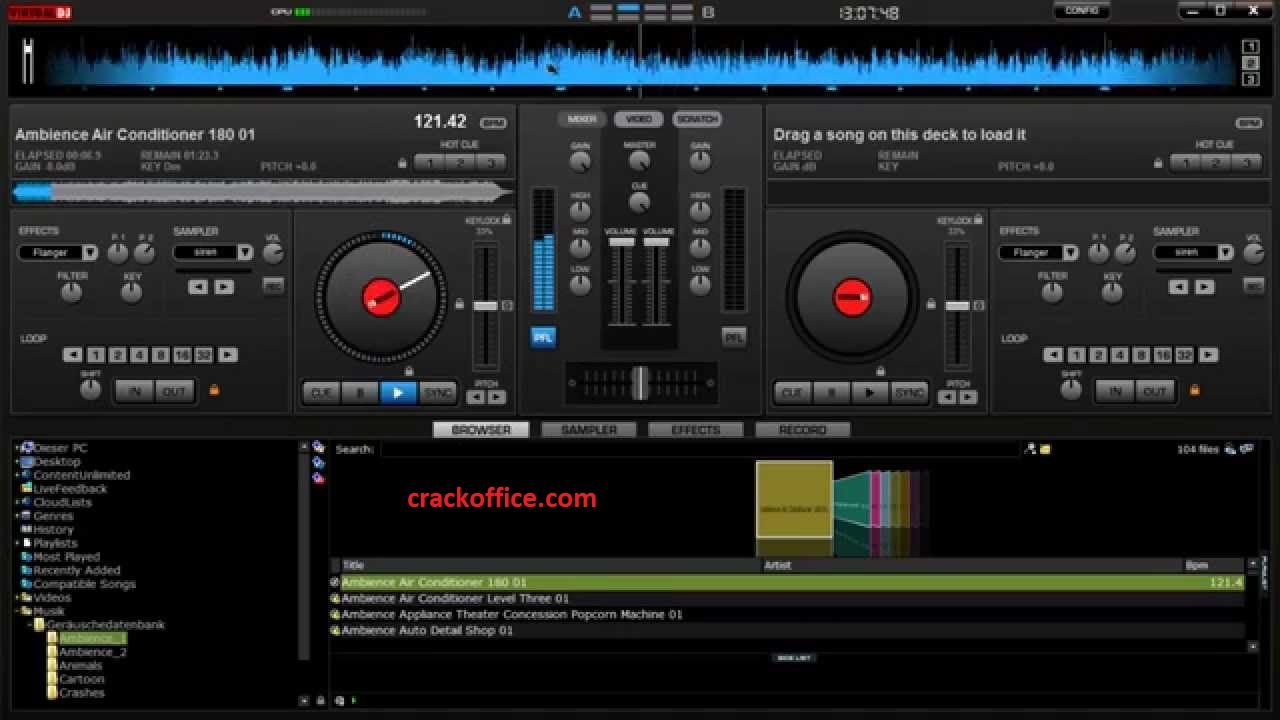 Virtual DJ Pro 2021 Crack + Serial Key (Latest 2020)